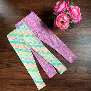 Bundle of LuLaRoe S/M kids leggings
